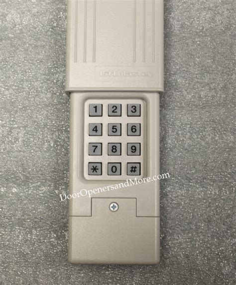 How To Program Genie Garage Door Keypad Program Garage Keypad Reset Genie Intellicode Wireless Pin Remote Programmable How Program