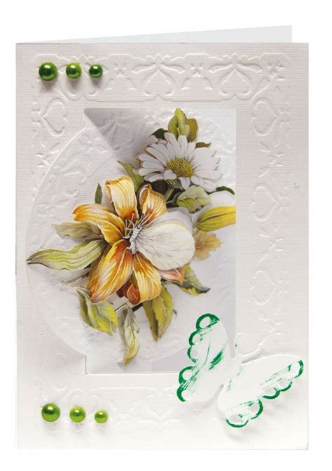 Handcraft Flower - reddy handcraft flower card set staf wesenbeek 3 6 for