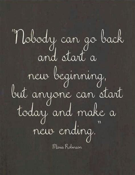 new beginning new ending quotes pinterest