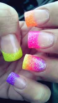 colorful acrylic nails bright acrylic nail nail design from coolnailsart