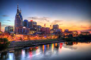 Photographers In Nashville Tn Nashville Tennessee Skyline At Sunset Photograph By Malcolm Macgregor