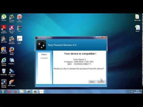 password reset xperia z bypass sony xperia password lock screen z1 z z ultra sp