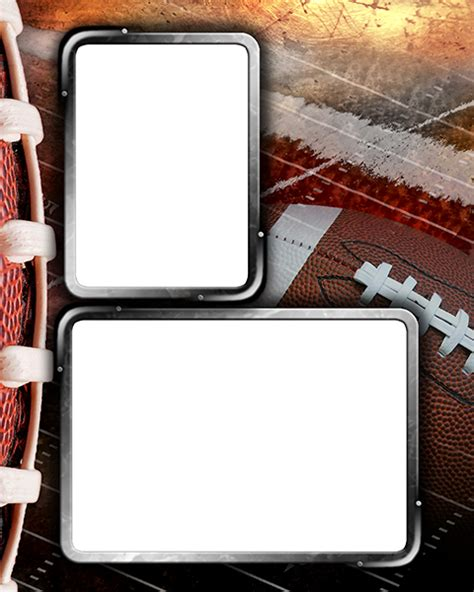 Football Photo Templates Free Football Memory Mate Templates