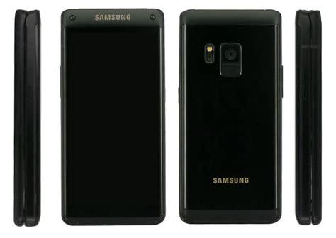 samsung w2018 samsung w2018 flip phone leaks hint at snapdragon 835 and 6gb ram