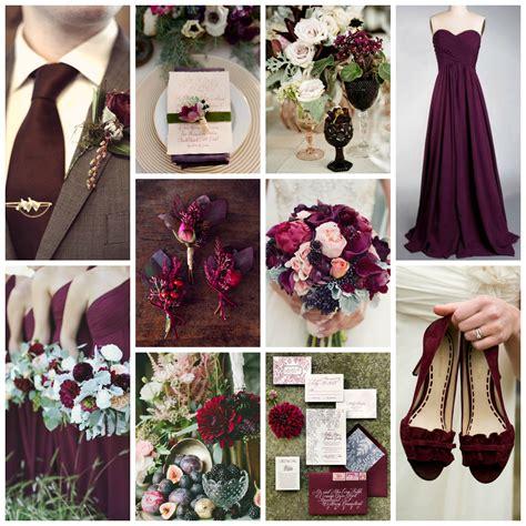 Plum, Marsala, & Sage Green Wedding Inspiration   Burgh Brides