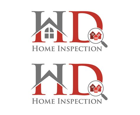logo design for hd home inspection by mraheelm design