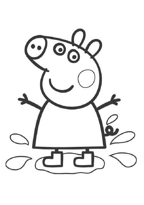 peppa pig dibujos para colorear dibujos peppa pig para imprimir y colorear dibujos para