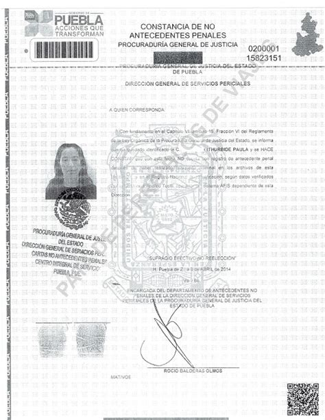 carta de antecedentes no penales 2016 carta de no antecedentes penales distrito federal 2016