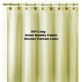 hotel shower curtain liner 84 quot extra long solid hotel water repellent quality nylon