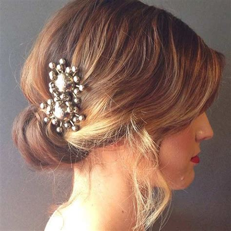31 Wedding Hairstyles for Short to Mid Length Hair   StayGlam