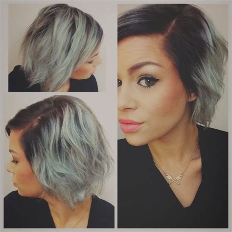 best hair color for a hispanic with roots 54 best dark roots light ends images on pinterest