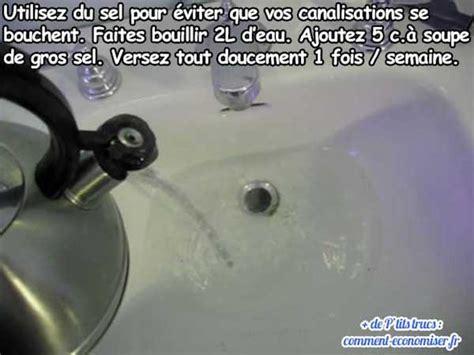 Comment Déboucher Canalisation by L Astuce Pour Emp 234 Cher Vos Canalisations De Se Boucher