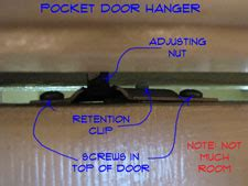 removing pocket door rollers pocket doors interior