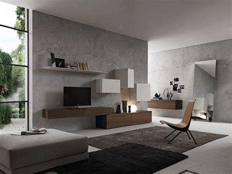 soggiorni idee pareti attrezzate moderne 70 idee di design per arredare