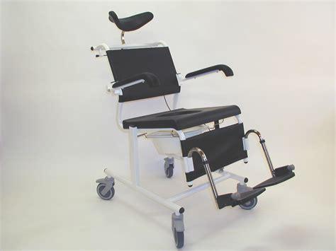 assistdata ergotip 2 reclining commode shower chair
