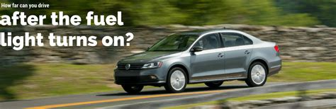 How Many After Gas Light Comes On by Vw Passat Gte Fuel Efficiency