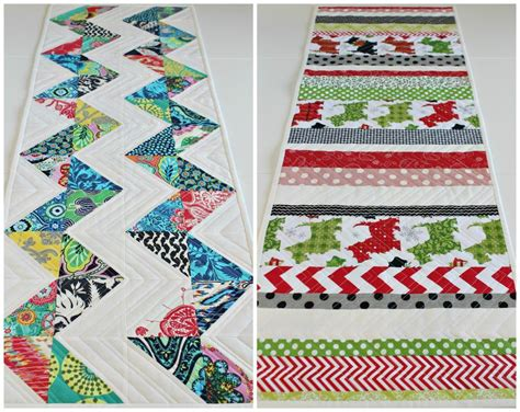 Patchwork Table Runner Pattern - top 10 quilted table runner patterns for