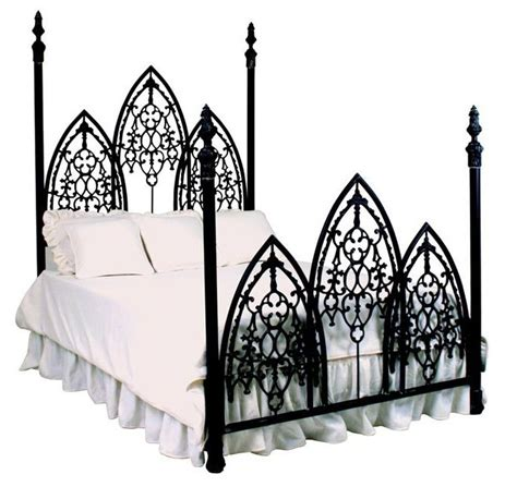 gothic bed french gothic iron bed gothic pinterest