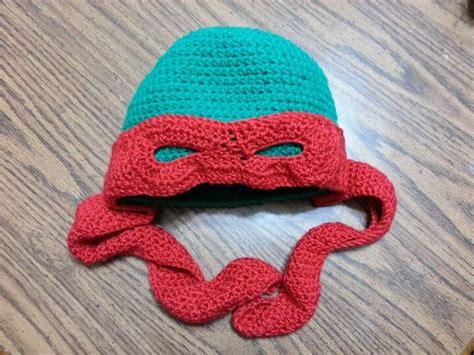 pattern for ninja turtle beanie ninja turtle crochet hat 2012 things i have made