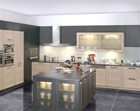 decoration des cuisines modernes idee decoration maison contemporaine