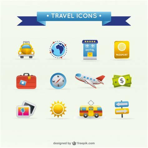 imagenes vacaciones para wasap viajes iconos de viaje vector de material descargar