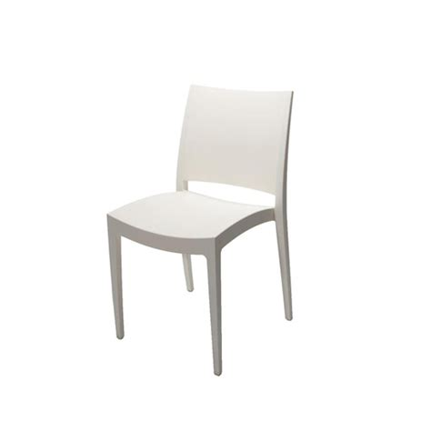 White Chair by White Premium Plastic Chair Chair Hire Co