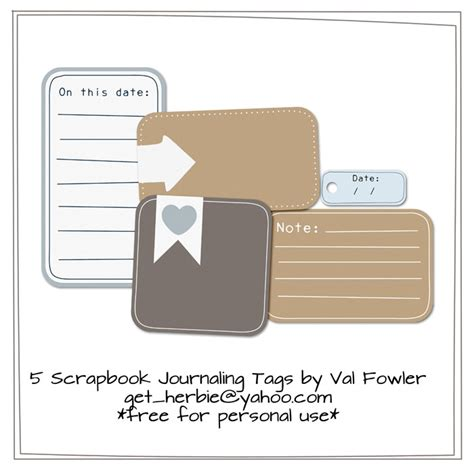 printable journaling tags for scrapbooking scrapbook journaling tags by valgal02 on deviantart