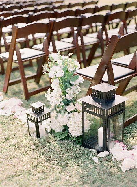 Wedding Aisle Lantern Ideas by Lantern Aisle Decor Elizabeth Designs The Wedding