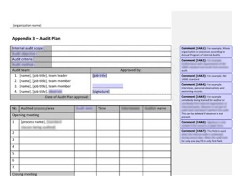 Ctoni 2 Report Template Iso 14001 2015 Using Audit To Gain Real Benefit