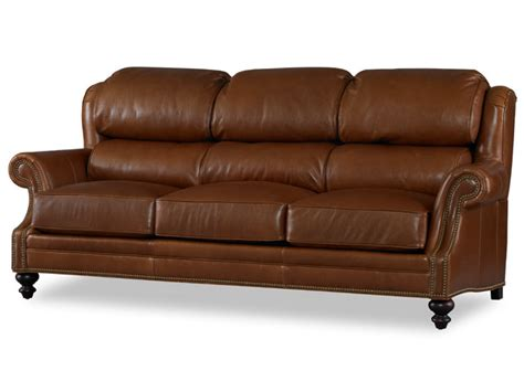 tabor leather sofa by bradington bradington