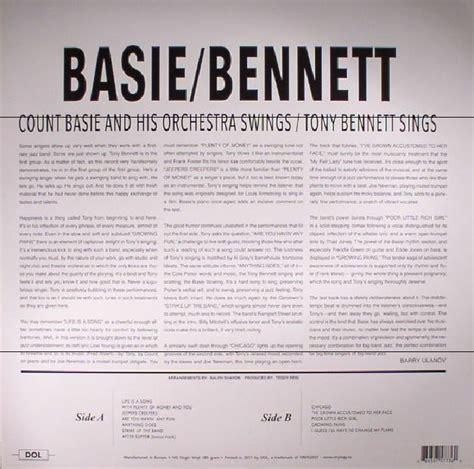 basie swings bennett sings count basie tony bennett basie swings bennett sings