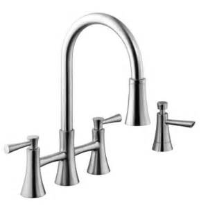 schon 925 series 2 handle pull sprayer kitchen faucet