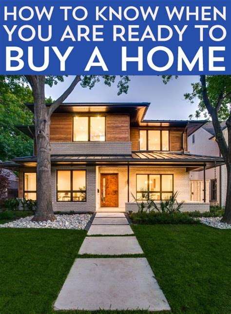 how to know when to buy a house how to know when you are ready to buy a home frugal