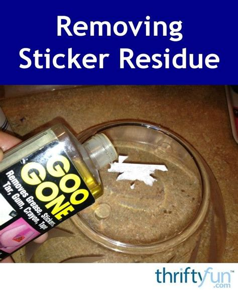 How To Remove Sticker Residue From Car Window