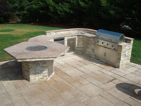backyard stone fire pit project 306 171 outdoor living of new jersey