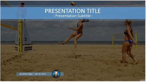 volleyball themes for powerpoint free volleyball ppt 68214 sagefox powerpoint templates