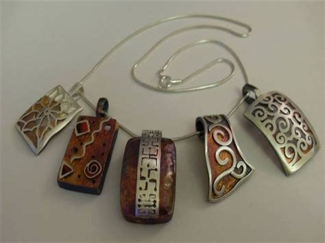 Handmade Metal - 25 best ideas about handmade silver jewelry on