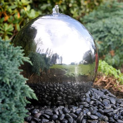 stainless steel garden 54 garden water features awesome outdoor design ideas