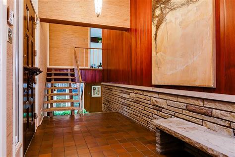 mid century entryway stunning mid century modern toronto time capsule house by