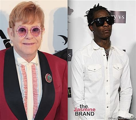 elton john young thug elton john featured on young thug s new quot on the rvn quot ep