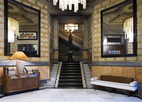 design house barcelona lighting cotton house hotel barcelona mixes neoclassical elements