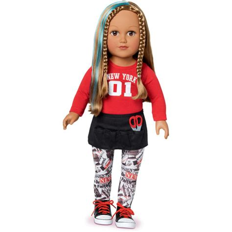 american girl doll hair dresser my life as hairstylist 18 quot doll blonde walmart