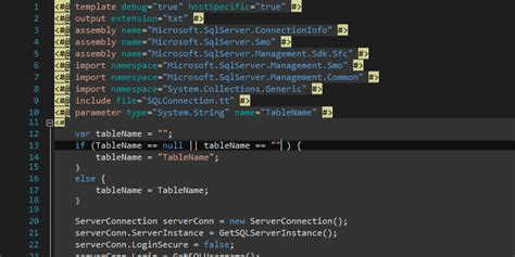 download themes visual studio 2015 changing t4 template background colors in visual studio