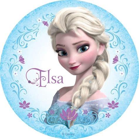 Cake Decorating Supplies In Perth Disney Frozen Elsa Round Edible Icing Cake Image Kids