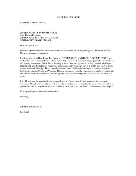 cover letter for lpn with no experience 25 best ideas about nursing cover letter on