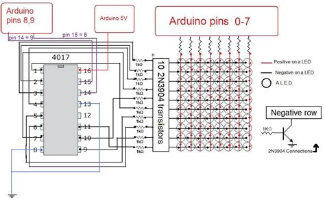 build an arduino led matrix in 3 simple steps diy hacking