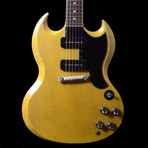 rock and roll relics rock n roll relics townsend sg dual p 90 relic guitar in