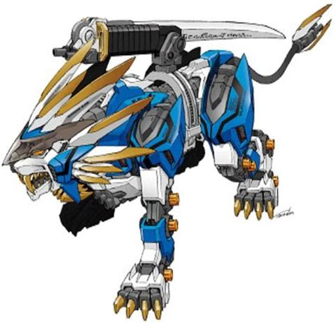 Kaos Anime Liger Zero 225 best images about zoids on models lightning and wolves