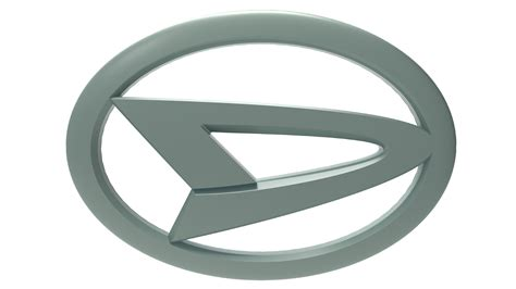 3d daihatsu logo silver by llexandro on deviantart