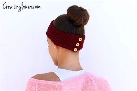 25 awesome diy headbands for fall and winter shelterness picture of headband decorated with buttons